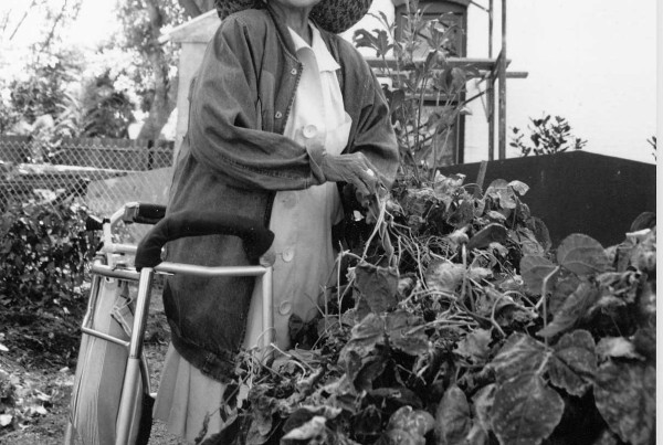 2006 - Bruce Randolph - Woman Working in Garden - LQ