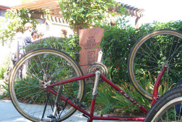 2011 - Bike and Baker Sign