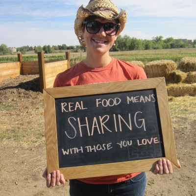 2012 - DeLaney Farm Brunch - Real Food - Sharing