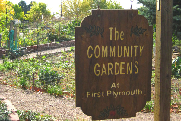 2014 - First Plymouth - Garden Sign