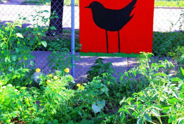 2014 - Mitchell - Garden Sign