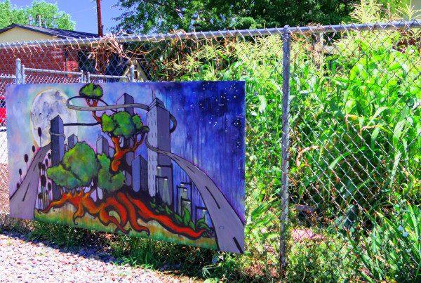 2014 - Quigg Newton - Garden & Mural