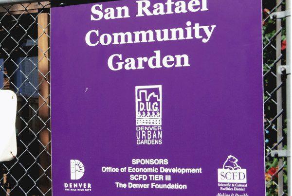 2014 - San Rafael - Garden Sign - Edited