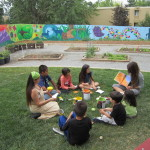 2012 - Storytime in the Maplewood Community Garden (Kristin Walsh)