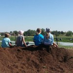 2014 - DeLaney - Kids on Dirt Pile