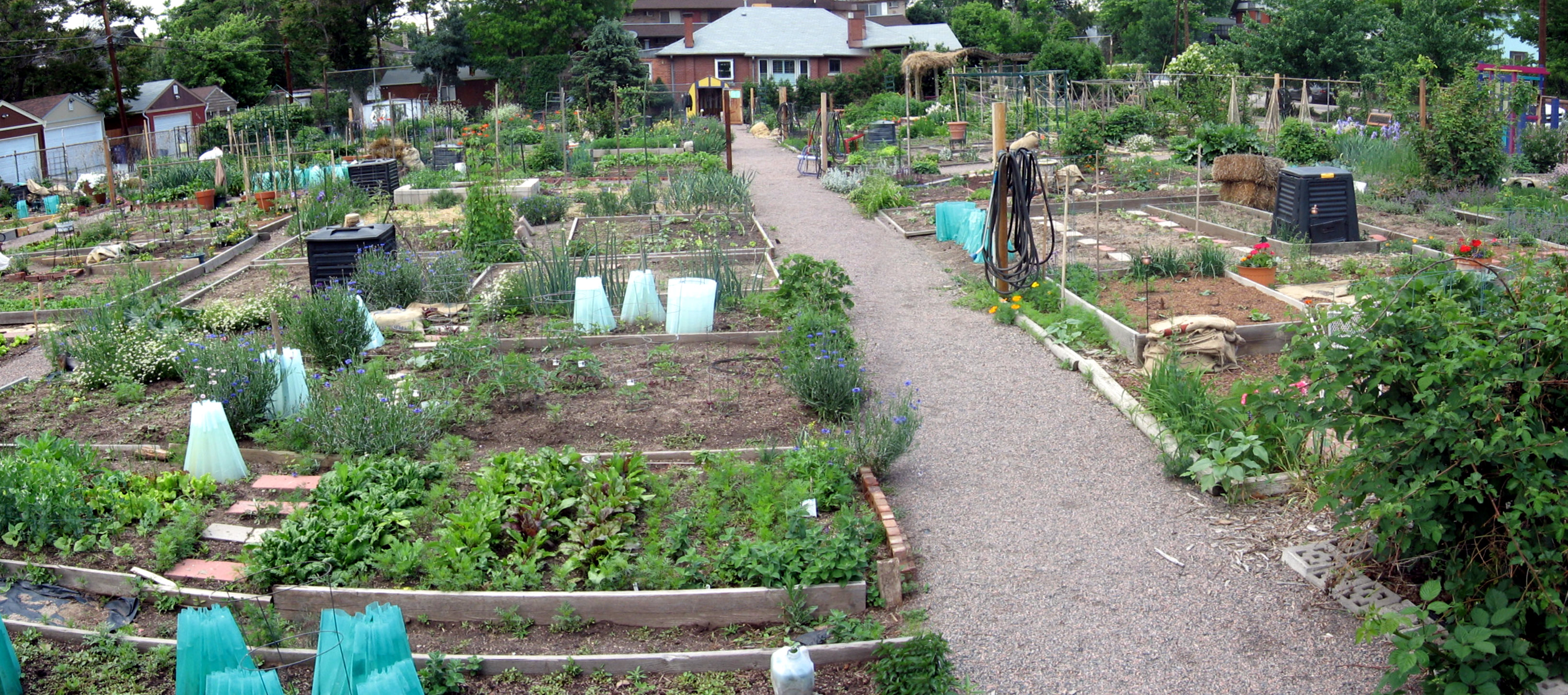west washington park community garden - Urban Garden