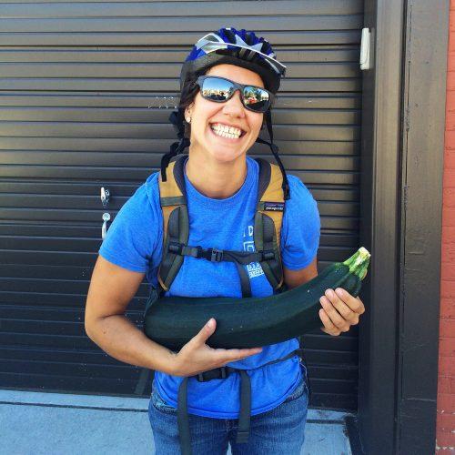 2016 - FFC - Nessa and giant zucchini