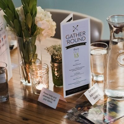 2016 - Gather Round - Table Setting
