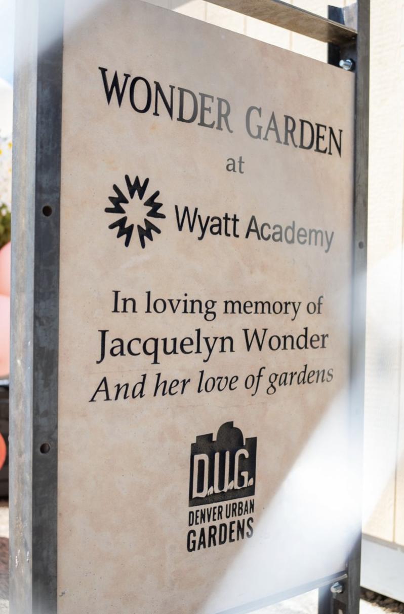 The Wonder Garden is now open!