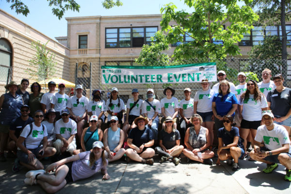 DENVER, CO - JULY 09:  during the Spark the Change Volunteer Event at Morey Middle School on Friday, July 9, 2021 in Denver, Colorado. (Photo by Eve Kilsheimer/MLB Photos via Getty Images)